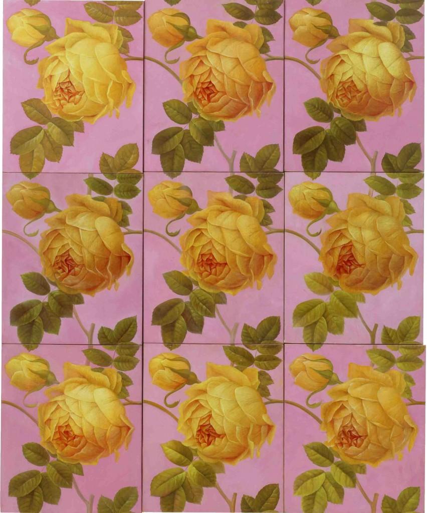 gelb-rosa
